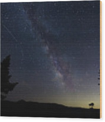 The Milky Way 1 Wood Print by Jim Thompson
