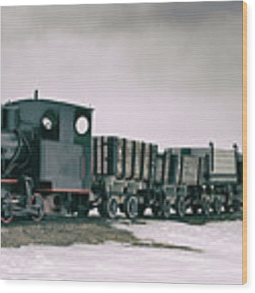 The Most Northern Train? Wood Print by James Billings