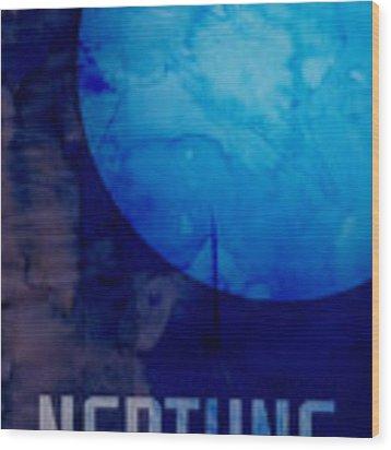 The Planet Neptune Wood Print