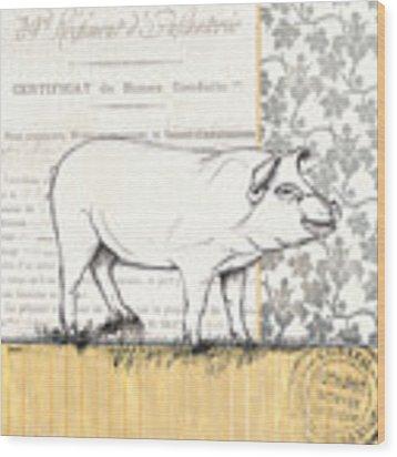 Vintage Farm 2 Wood Print