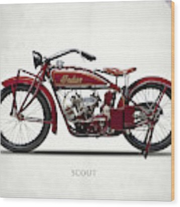 The Scout 1924 Wood Print by Mark Rogan