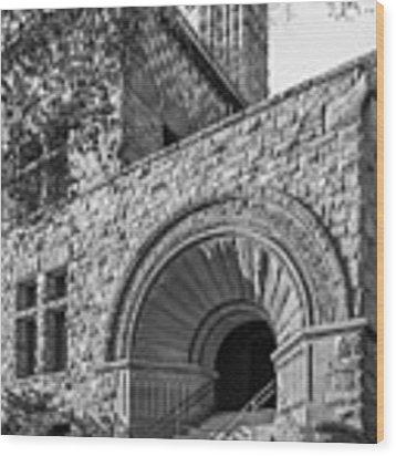 University Of Minnesota Pillsbury Hall Wood Print by University Icons