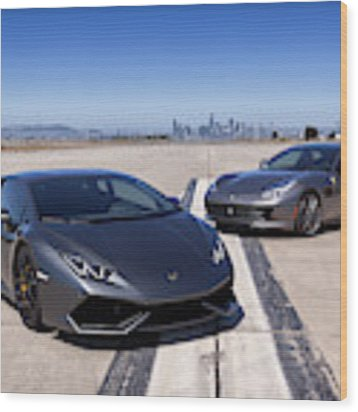 #lamborghini #huracan #print Wood Print by ItzKirb Photography