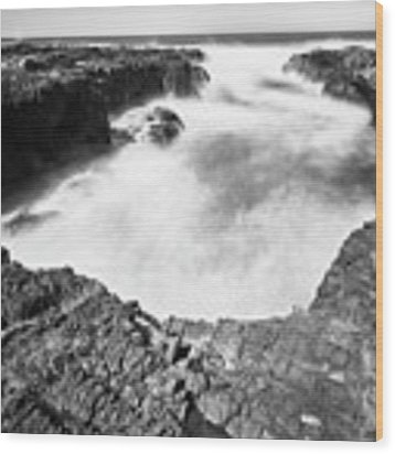 Cape Perpetua Wood Print by Whitney Goodey