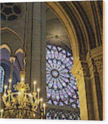 Cathedrale Notre Dame De Paris Wood Print by Brian Jannsen