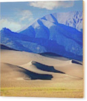 Colorado Dunes Wood Print by Scott Kemper
