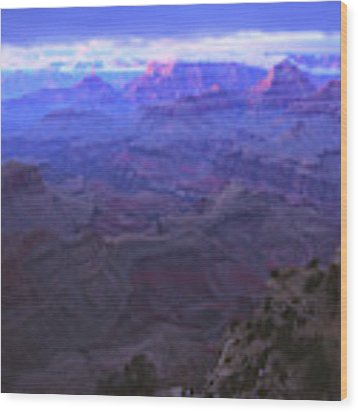 Grand Canyon Twilight Wood Print by Chance Kafka