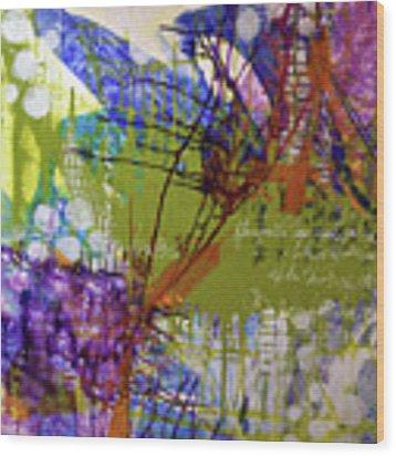 Inner Faith Wood Print by Kate Word