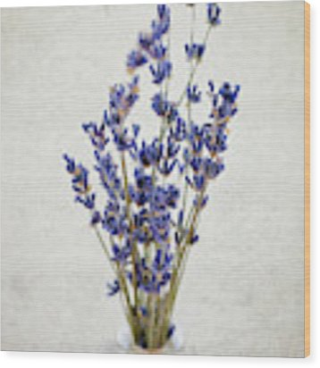 Lavender Wood Print by Nicole Young