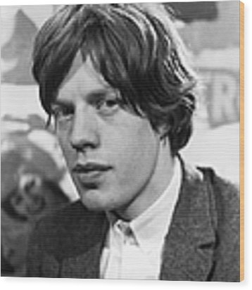 Mick Jagger Wood Print by Express