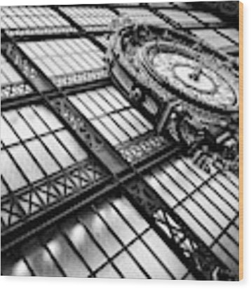 Musee D'orsay Wood Print by Miles Whittingham