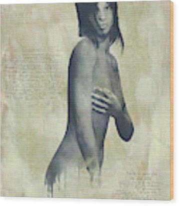 Naomi Wood Print by Jan Keteleer