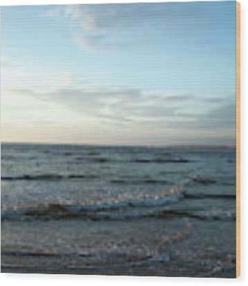 Ocean Sky Wood Print by Eric Christopher Jackson