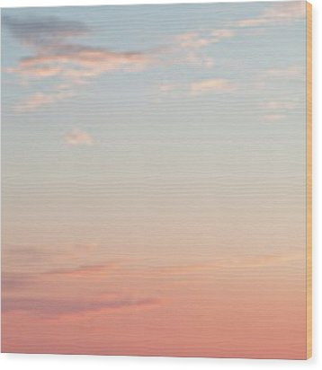Outer Banks Sailboat Sunset Wood Print by Nathan Bush
