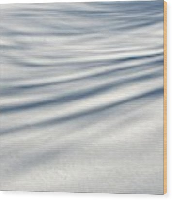 Shadows In The Snow Abstract By Artist4god Wood Print by Rose Santuci-Sofranko