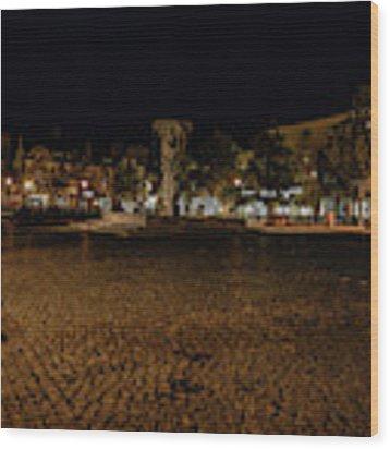 stora torget Enkoeping #i0 Wood Print by Leif Sohlman