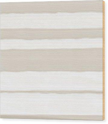 Strips 2a Wood Print by Menega Sabidussi