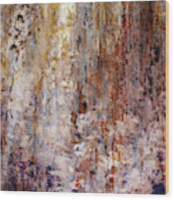 The Greater Good - Custom Version 2 - Abstract Art Wood Print by Jaison Cianelli