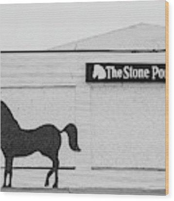 The Stone Pony - Asbury Park Wood Print by Kristia Adams