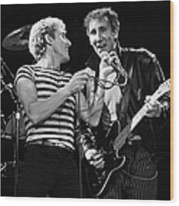 The Who In Concert At The Forum Wood Print by George Rose