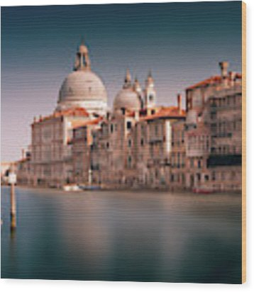 Venice Grand Canal Wood Print by Miles Whittingham