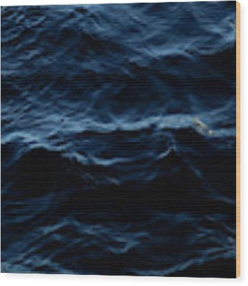 Water, No.2 Wood Print by Eric Christopher Jackson