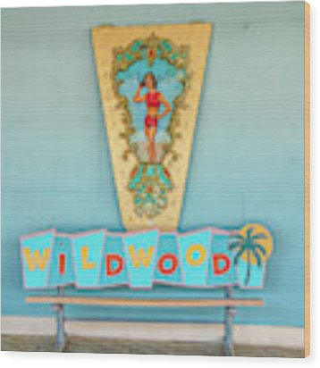 Wildwood Days Wood Print by Kristia Adams