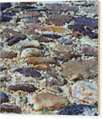 Williamsburg Cobblestones Wood Print by Patti Whitten