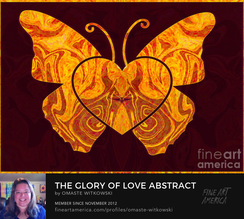 The Glory Of Love Abstract Shapes and Symbols Art Prints