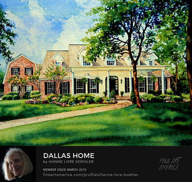 Dallas House Portrait