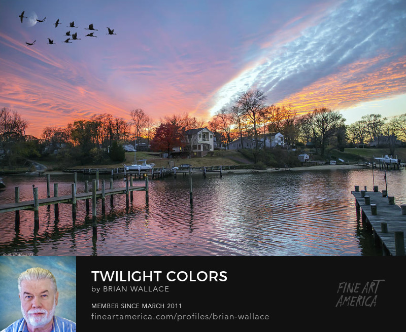 Twilight Colors by Brian Wallace