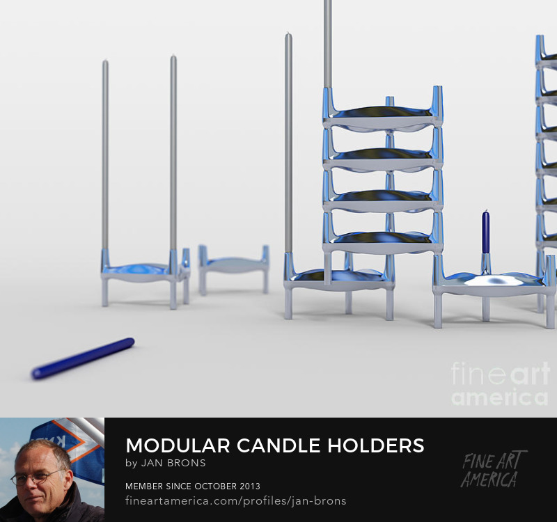 Modular Candle Holders - Sell Art Online