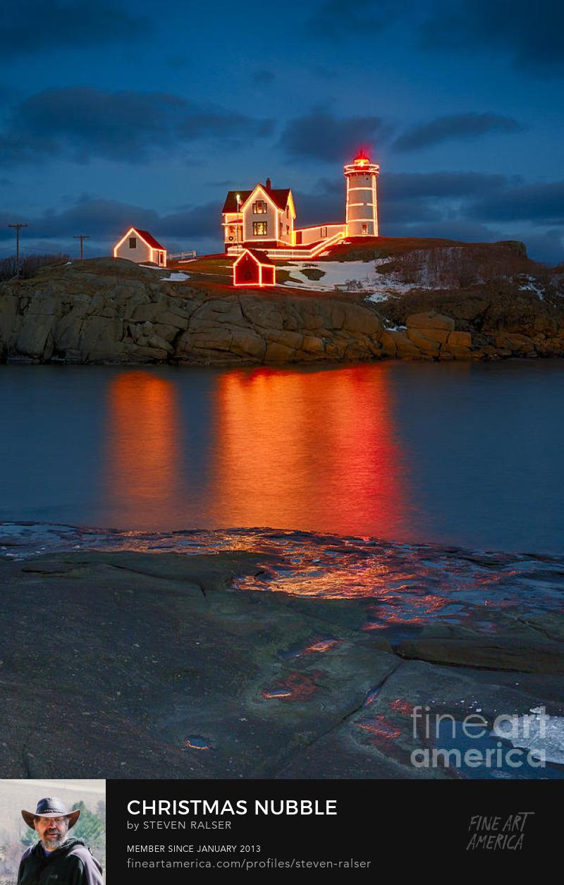 nubble lighthouse christmas
