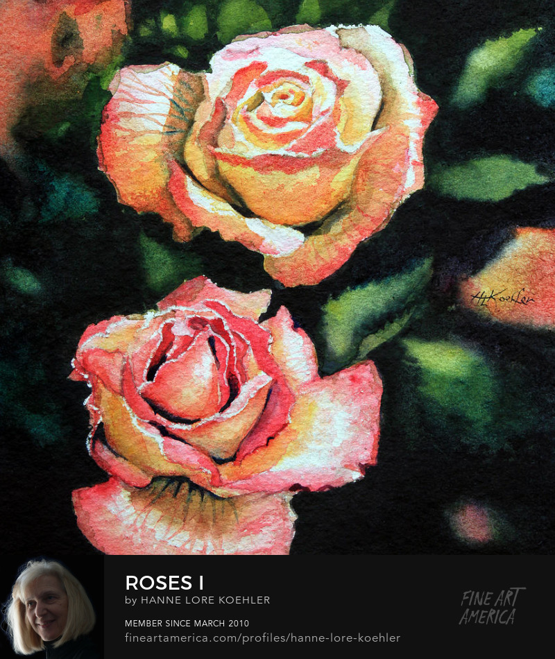 Painting Of Roses