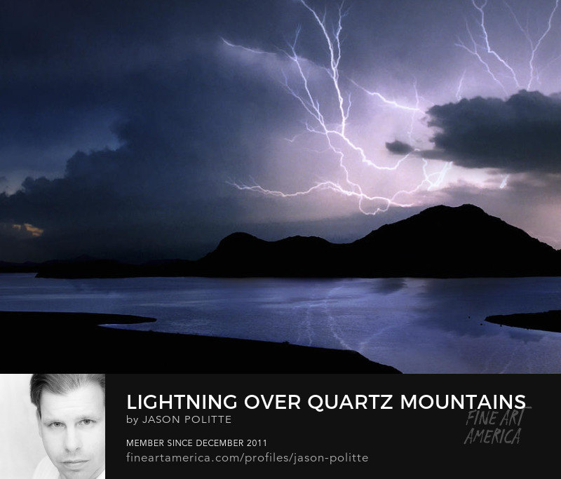 Oklahoma Quartz Mountains Lightning