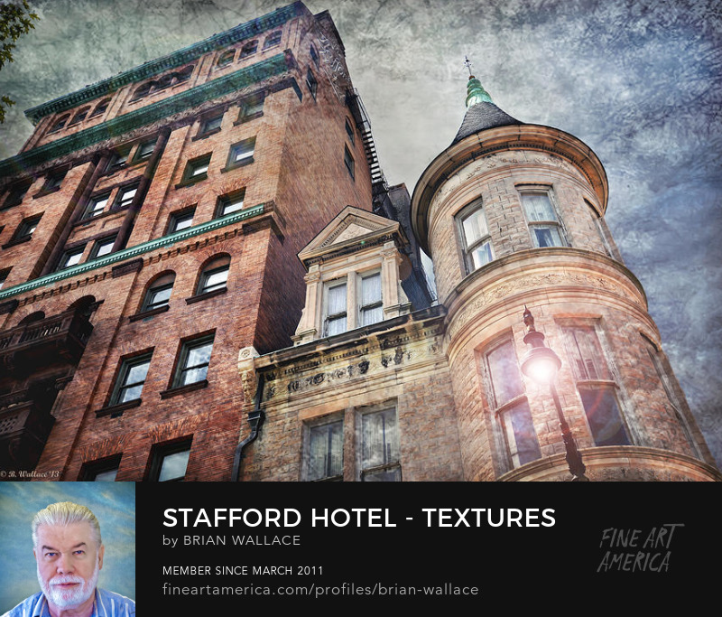 Stafford Hotel - Textures by Brian Wallace