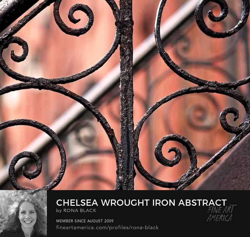 Chelsea Wrought Iron Abstract � Rona Black