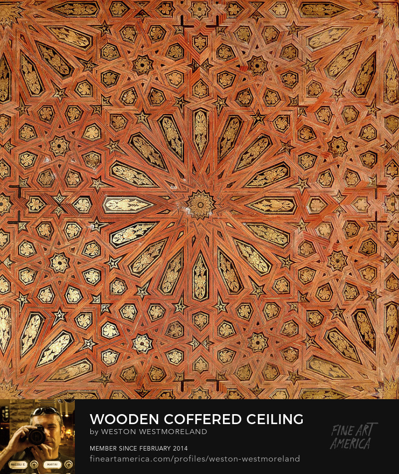 wooden-coffered-ceiling-in-the-alhambra