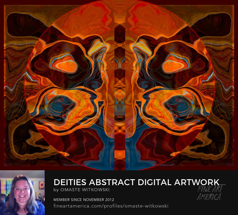 Deities Abstract Digital Artwork Abstract Designs Art Prints