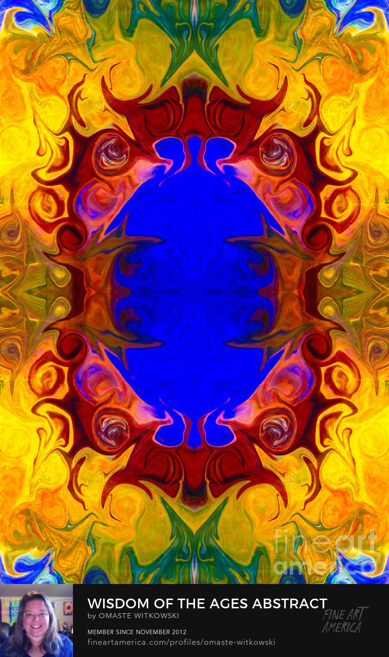 Wisdom Of The Ages Abstract Wheels Of Enlightenment Art Prints