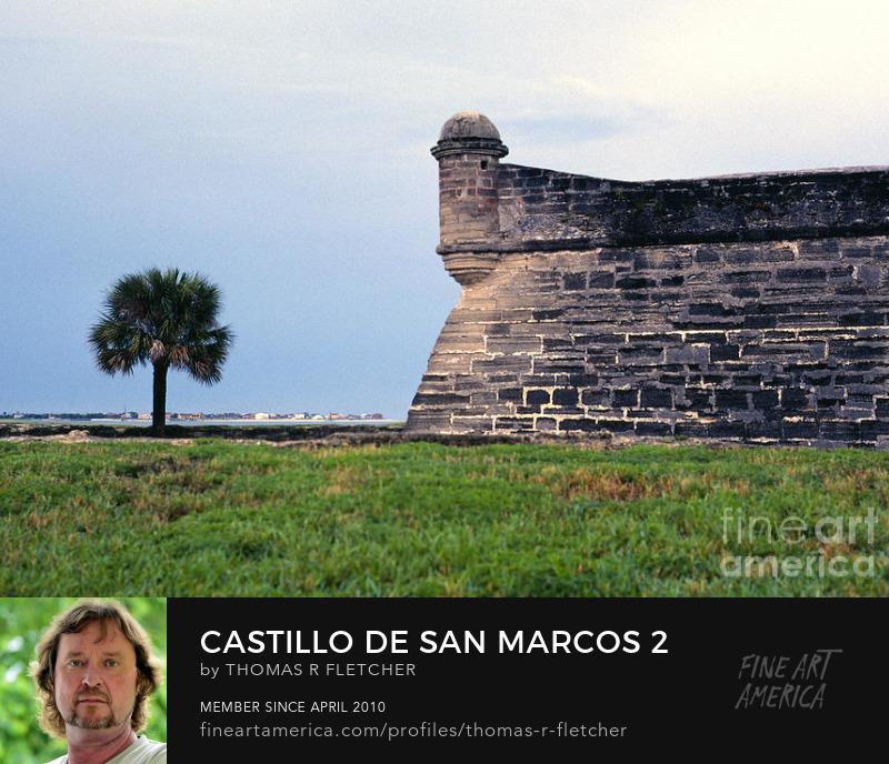 Photography Prints Castillo de San Marcos, St Augustine, Florida