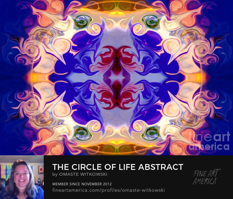 The Circle Of Life Abstract Designs Art Prints