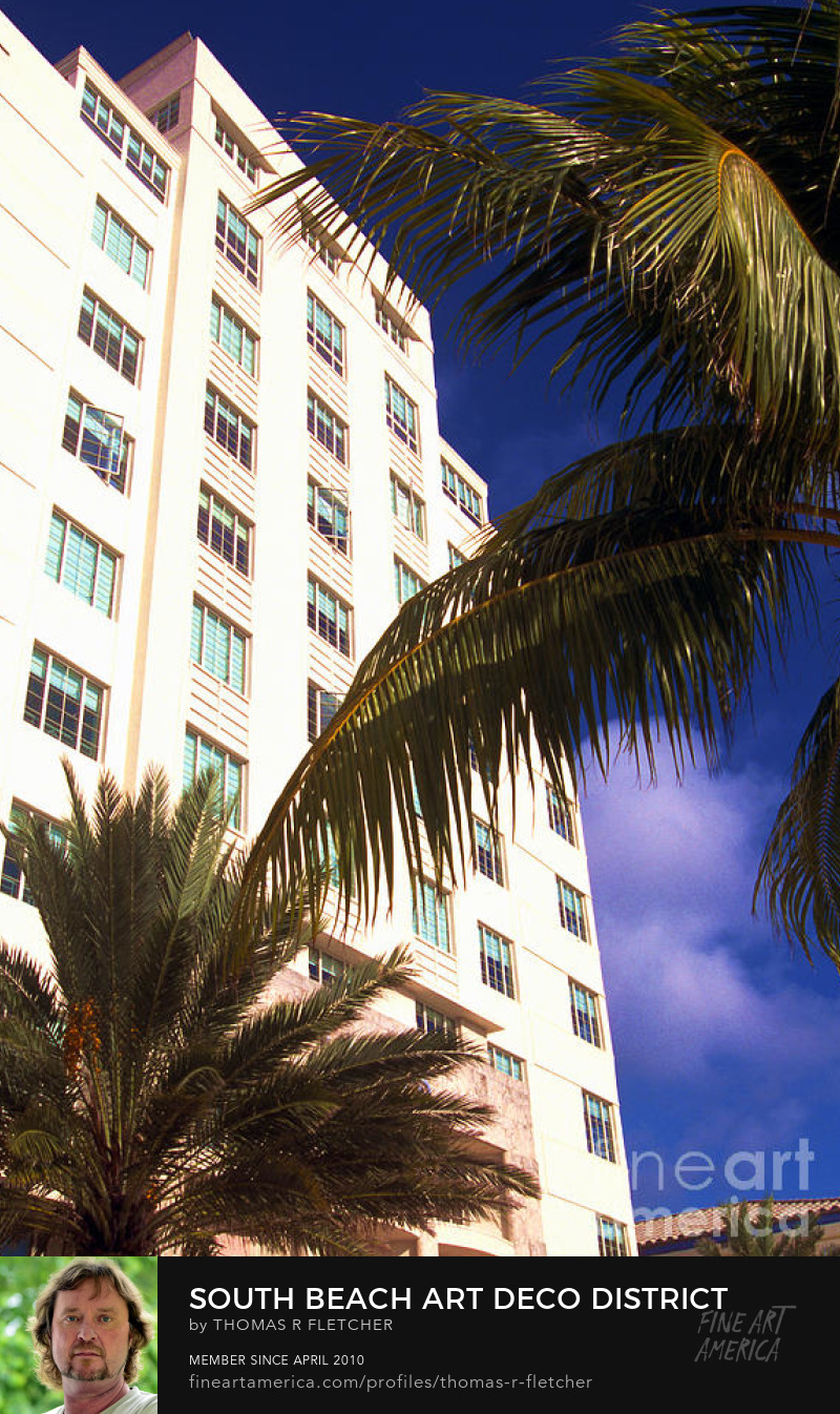 Photography Prints Art Deco, South Beach, Miami, Florida