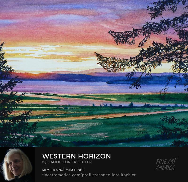 Seattle Landscape West Coast Canvas Art Prints