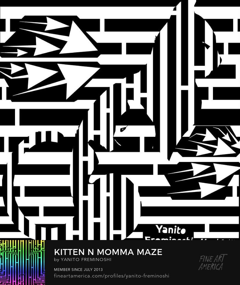 Kitten and Momma Maze