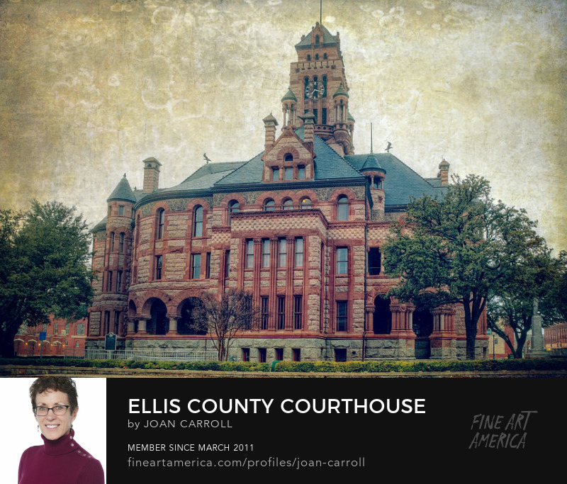 Ellis County Courthouse Joan Carroll Photography Digital Art