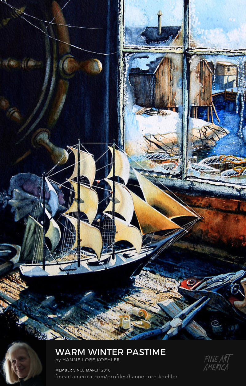 East Coast Maritime Still Life Painting