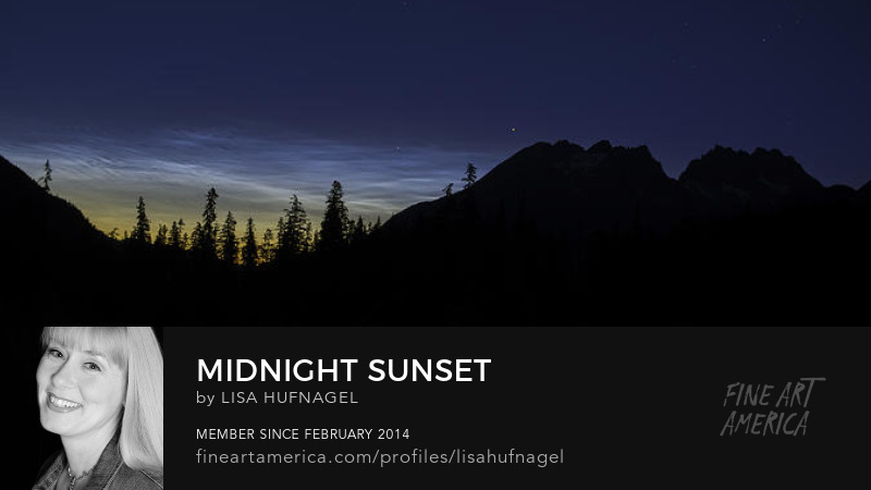 mountain sunset night photography noctilucent clouds