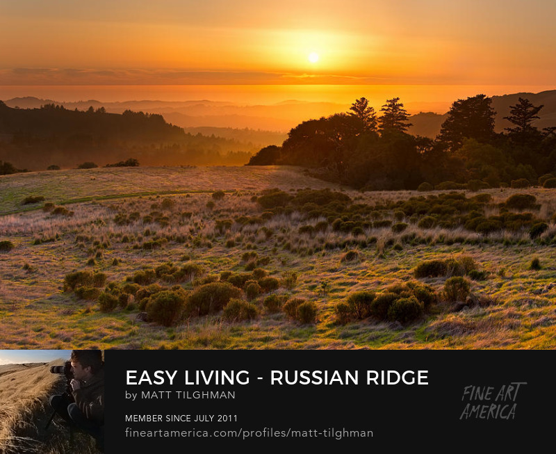 Russian Ridge California Photography Prints