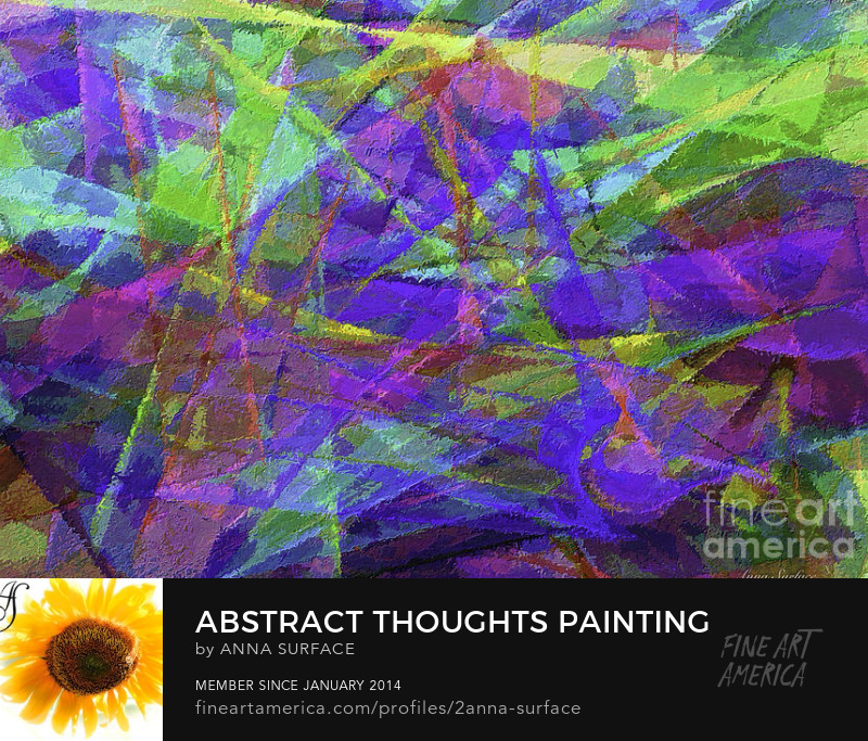 Abstract Thoughts Painting